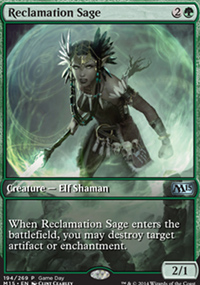 Reclamation Sage - Promos diverses