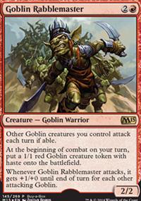 Goblin Rabblemaster - Promos diverses