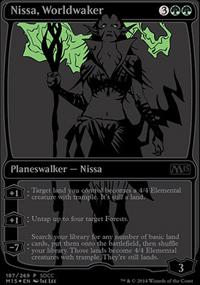 Nissa, Worldwaker - Misc. Promos