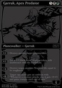 Garruk, Apex Predator - Misc. Promos