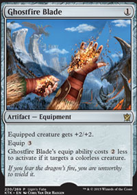 Ghostfire Blade - Misc. Promos