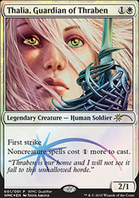 Thalia, Guardian of Thraben - Misc. Promos