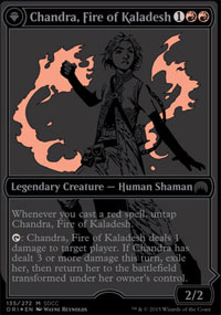 Chandra, Fire of Kaladesh - Promos diverses
