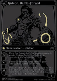 Gideon, Battle-Forged - Promos diverses