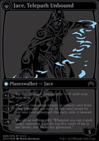 Jace, Telepath Unbound - Promos diverses