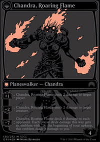 Chandra, Roaring Flame - Misc. Promos