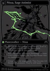 Nissa, Sage Animist - Misc. Promos