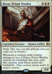 Hixus, Prison Warden - Misc. Promos