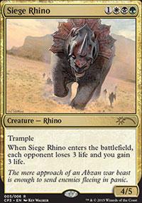 Siege Rhino - Misc. Promos
