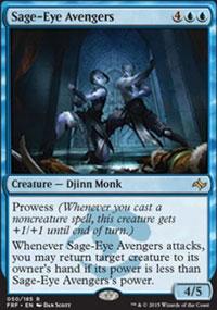 Sage-Eye Avengers - Promos diverses
