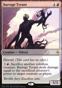 Barrage Tyrant - Misc. Promos