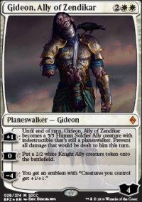 Gideon, Ally of Zendikar - Promos diverses