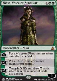 Nissa, Voice of Zendikar - Promos diverses