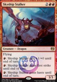 Skyship Stalker - Promos diverses