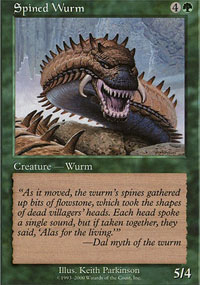 Spined Wurm - Promos diverses