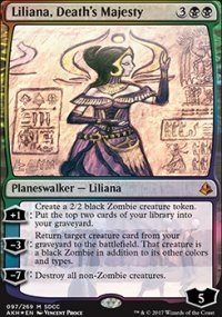 Liliana, Death's Majesty - Misc. Promos