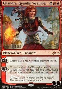 Chandra, Gremlin Wrangler - Promos diverses