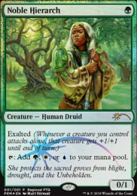 Noble Hierarch - Promos diverses