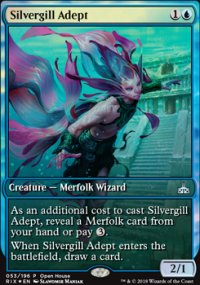 Silvergill Adept - Promos diverses