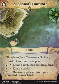 Conqueror's Foothold - Misc. Promos