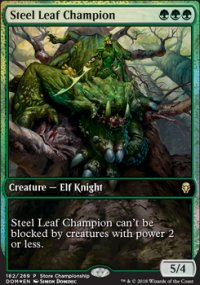 Steel Leaf Champion - Misc. Promos