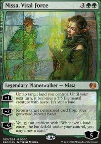 Nissa, Vital Force - Misc. Promos