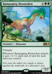 Rampaging Brontodon - Promos diverses