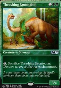 Thrashing Brontodon - Misc. Promos