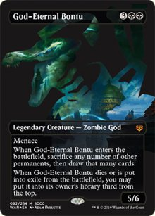 God-Eternal Bontu - Misc. Promos