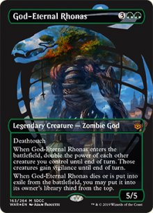 God-Eternal Rhonas - Misc. Promos