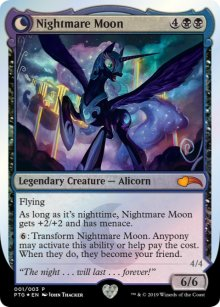 Nightmare Moon - Misc. Promos