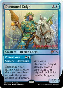 Decorated Knight - Misc. Promos
