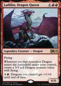 Lathliss, Dragon Queen - Misc. Promos