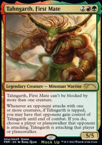 Tahngarth, First Mate - Misc. Promos