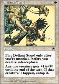 Defiant Stand - Portal