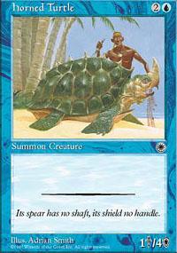 Horned Turtle - Portal