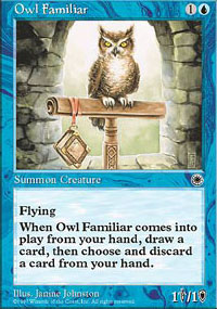 Owl Familiar - Portal