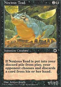 Noxious Toad - Portal