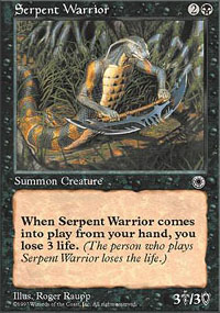 Serpent Warrior - Portal