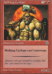 Hulking Cyclops - Portal