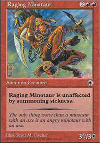Raging Minotaur - Portal