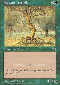Rowan Treefolk - Portal