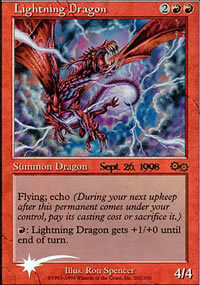 Lightning Dragon - Prerelease