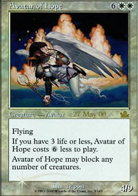 Avatar of Hope - Prerelease