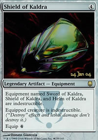 Shield of Kaldra - Prerelease Promos