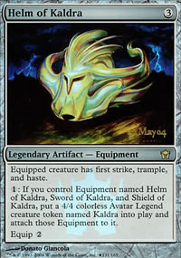 Helm of Kaldra - Prerelease Promos