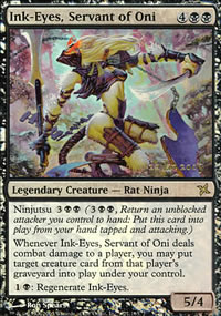 Ink-Eyes, Servant of Oni - Prerelease