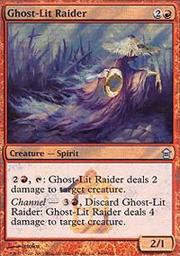 Ghost-Lit Raider - Prerelease