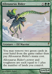 Allosaurus Rider - Prerelease Promos