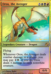 Oros, the Avenger - Prerelease